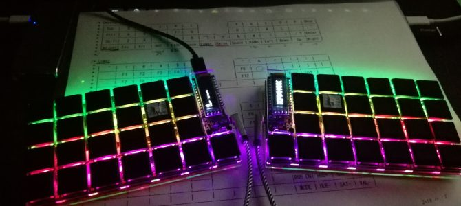 分割キーボード Helix を作った!